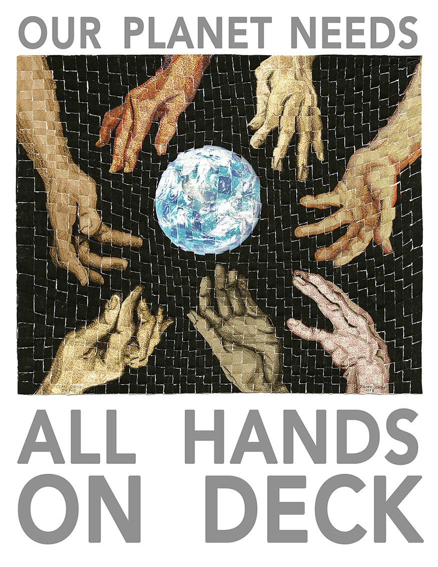 All Hands On Deck Print